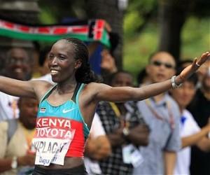 La keniana Edna Kiplagat