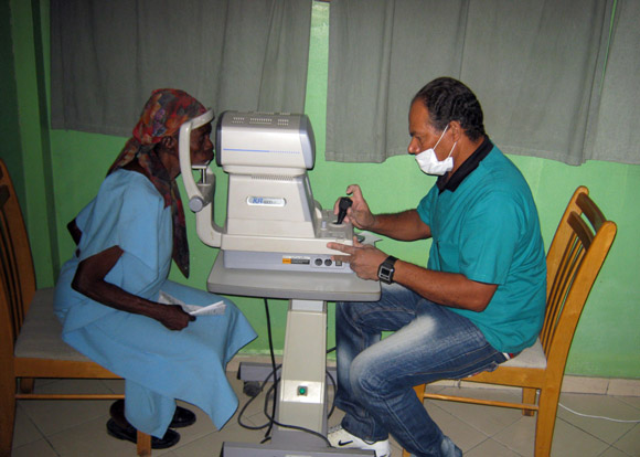 Operación Milagro en Haití. Foto: IPS