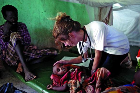 Médicos en Somalia