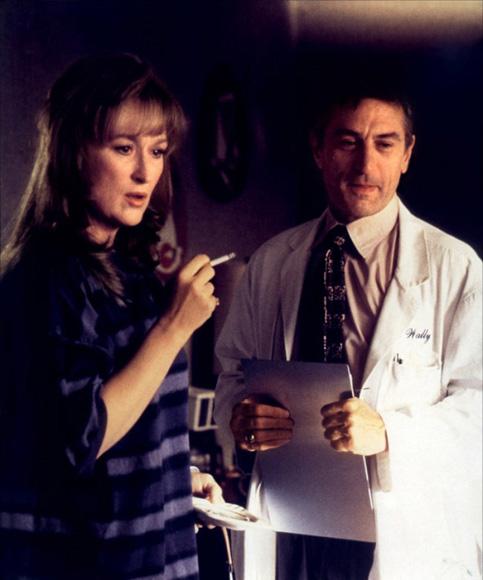 Robert de Niro y Meryl Streep en Marvin's Room