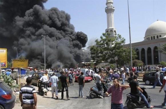 atentado en el líbano