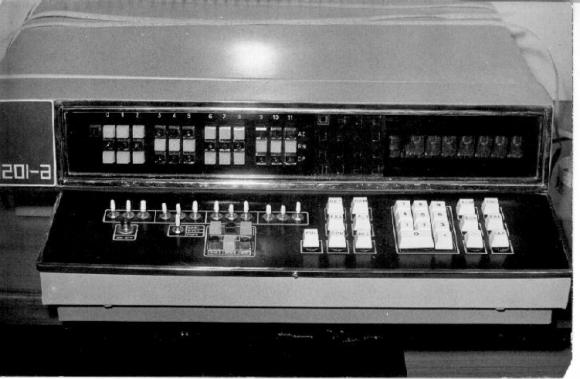 El segundo prototipo de la CID, la 201a. Fue creada en 1971.