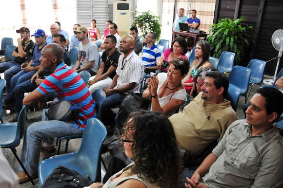 Colaboradores, lectores y equipo de Cubadebate. Foto: Ladyrene Pérez/Cubadebate.
