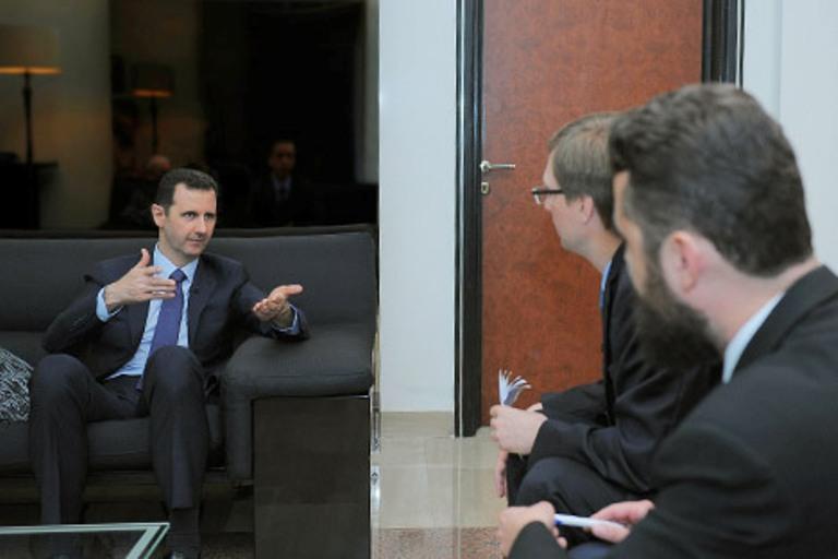 entrevista a Bashar Al-Assad