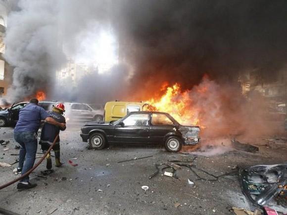 explosión + libano
