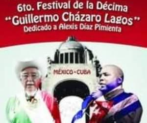 Alexis Díaz Pimienta en Festival de la Décima en Meéxico 2013