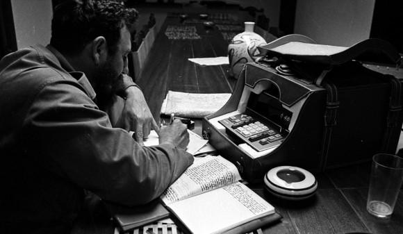 Fidel Castro 1970. Foto: Liborio  Noval