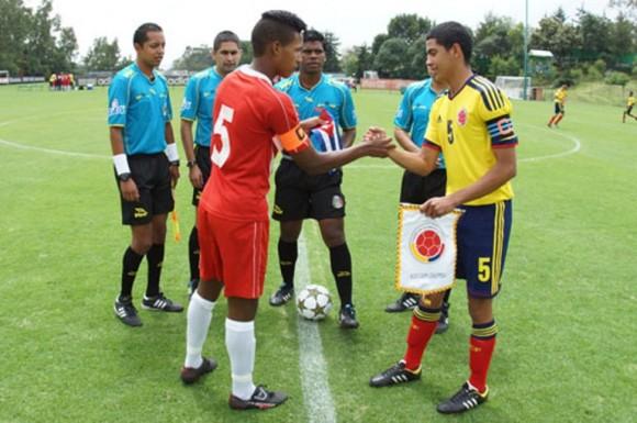 Cuba -Colombia en 2ª Copa México de Naciones 2013
