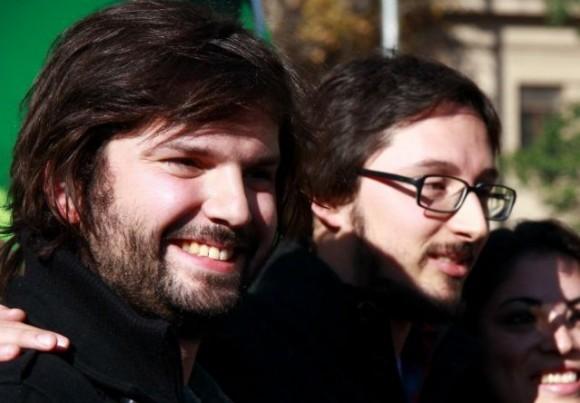 Gabriel Boric y Francisco Figueroa