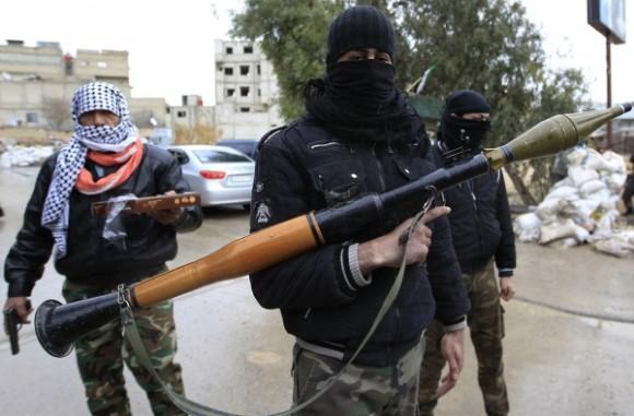 guerra-siria + terroristas