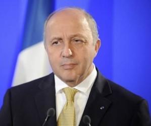 El Canciller francés Laurent Fabius
