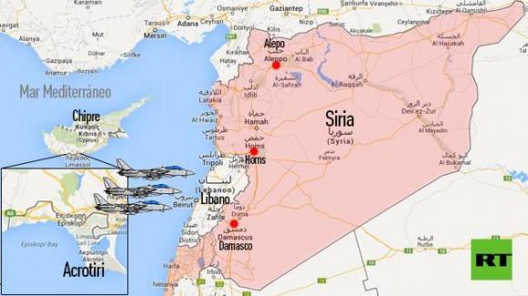 Aviones De Combate Británicos Aterrizan A 200 Kilómetros De Siria