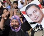 Partidarios de Mubarak celebran su liberación. Foto: AFP,