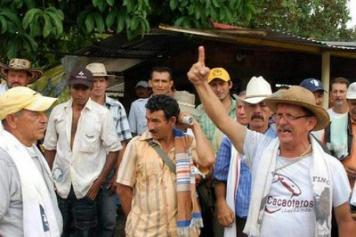 El paro reúne a productores de café, panela, arroz, cacao y papa. Foto: Archivo.