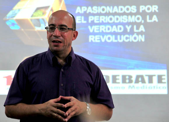 Randy Alonso, director de Cubadebate. Foto: Ladyrene Pérez/Cubadebate.