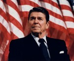 Ronald Reagan. Foto: Archivo.