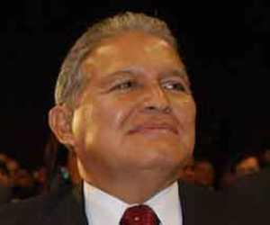 El vicepresidente Salvador Sánchez Cerén