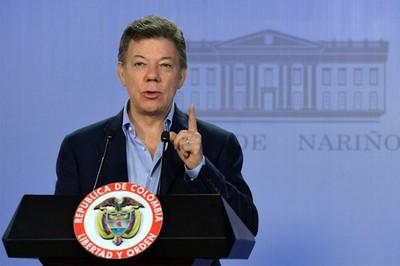 Santos dijo que no quiso desestimar las protestas sociales. Foto: Archivo.