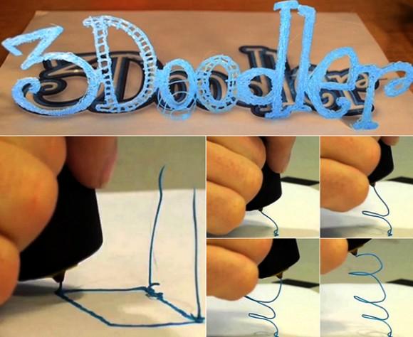 Bolígrafo que dibuja en 3D