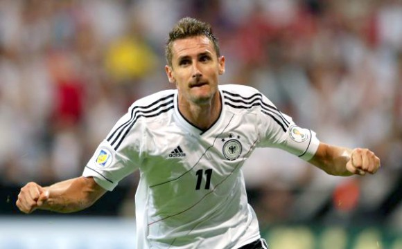 Miroslav Klose. Foto. AP