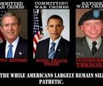 Bush y Obama, criminales de Guerra