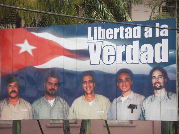 Cartel por la libertad de los Cinco
