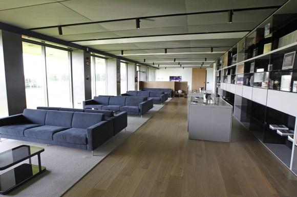 Sala de estar. Foto: Ángel Díaz/EFE.
