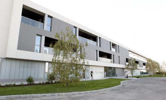 Fachada de la residencia. Foto: Ángel Díaz/EFE.