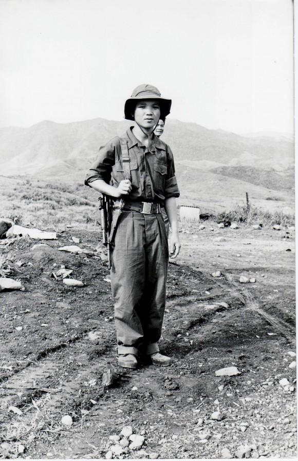 Combatiente vietnamita. Septiembre de 1973. Foto: Estudios Revolución/Cubadebate
