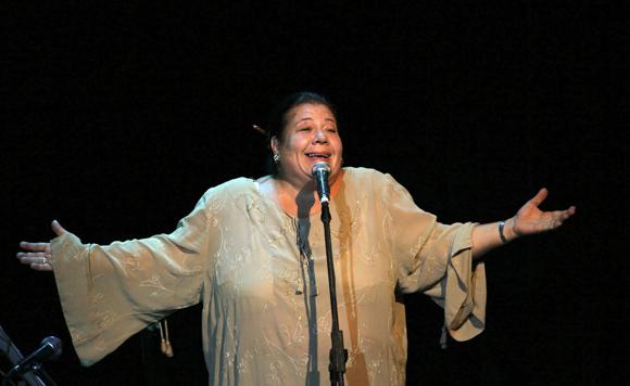 Corina Mestre en el Concierto por Los Cinco en Bellas Artes, 5 de septiembre de 2013Foto: Ladyrene Pérez/Cubadebate.