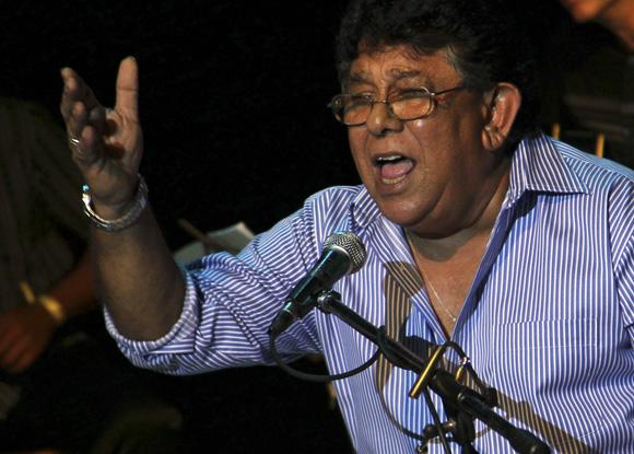 Augusto Blanca en el Concierto por Los Cinco en Bellas Artes, 5 de septiembre de 2013Foto: Ladyrene Pérez/Cubadebate.