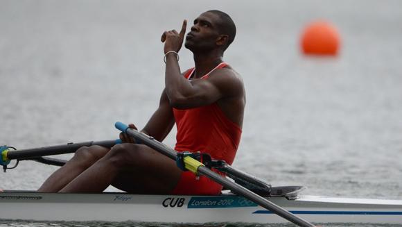 El piraguista Ángel Fournier Rodríguez durante los Juegos Olímpicos de Londre-2012. Imagen de Archivo.