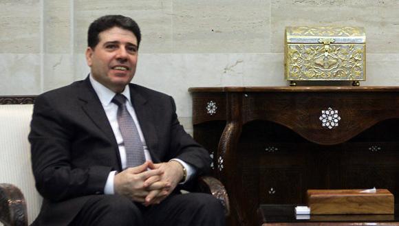 Wael al Halqi, primer ministro de Siria.