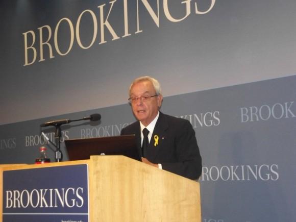 Eusebio Leal en Brookings2