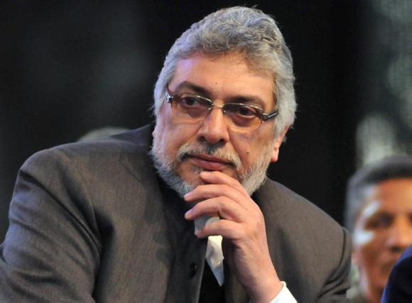 Expresidente paraguayo Fernando Lugo.