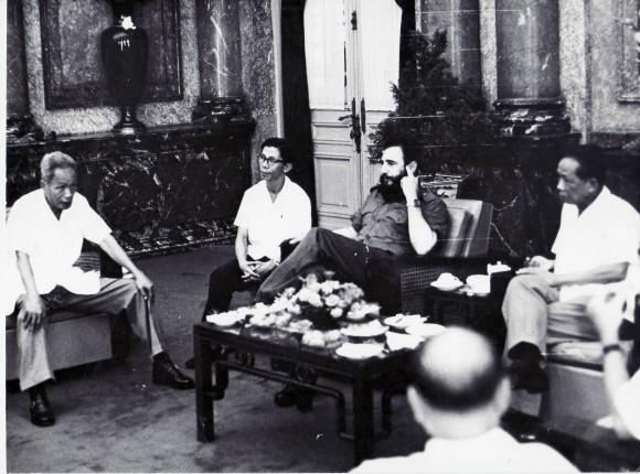 Las conversaciones con Pham Van Dong y otros dirigentes
