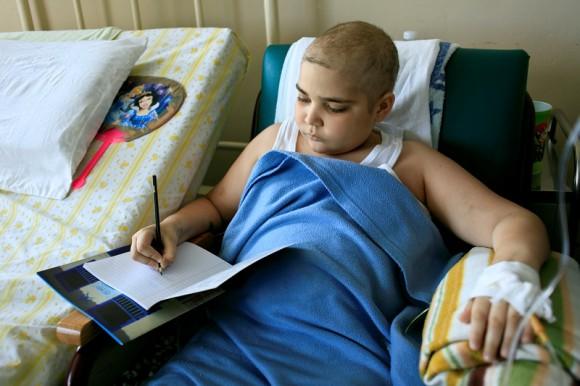 Le apasiona escribir. Foto: Roberto Chile/Cubadebate.