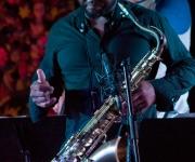 Carlos Miyares en el saxo. Foto: Alejandro Ramírez Anderson.