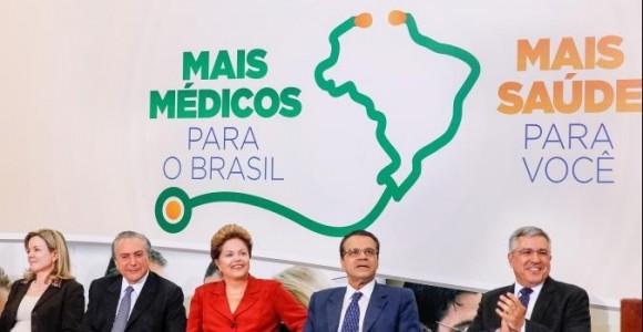 """El programa """"Mas médicos"""", de Brasil, inspirado por el gobierno de Dilma Rousseff."""
