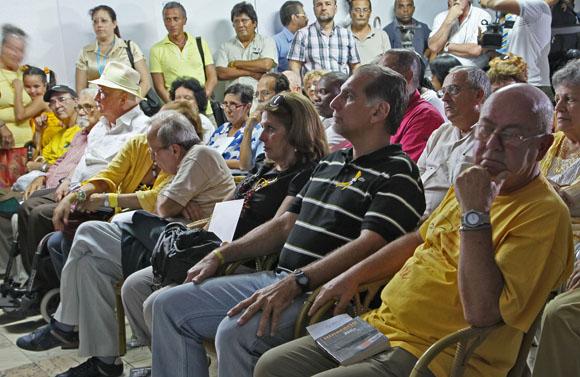 Jornada por los 5 en la UNEAC. Foto: Ismael Francisco/Cubadebate.