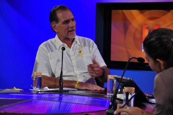 René González en la Mesa Redonda