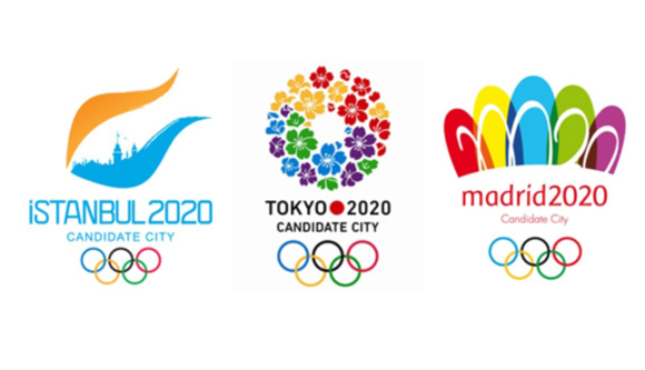 Estambul, Tokio y Madrid, las tres ciudades finalistas en la carrera por organizar los Juegos Olímpicos de 2020.