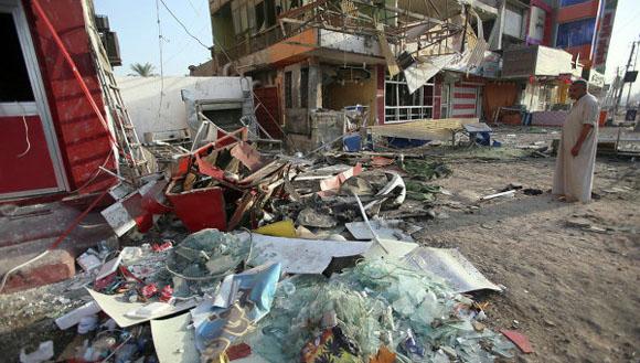 Violencia en Bagdad A