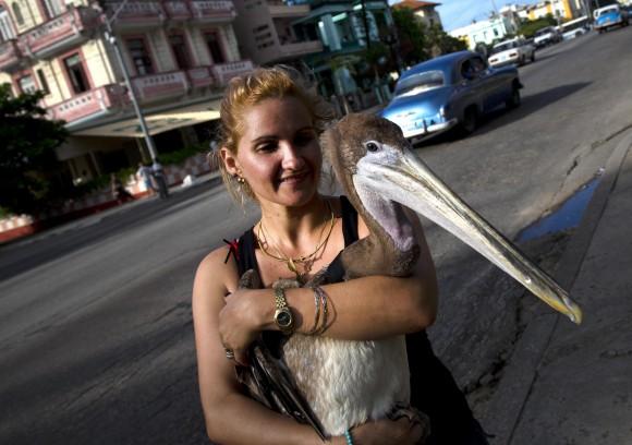 Pancho y su madre adoptiva Magela Guerrero.
