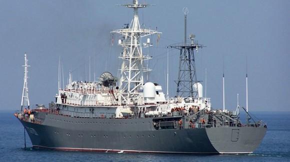 buque espía ruso