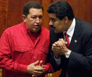 Chávez y Maduro, dignos hijos de la Venezuela bolivariana.