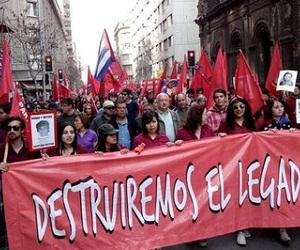 chile manifestación