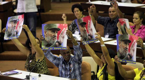 Sesión de clausura del Congreso cederista