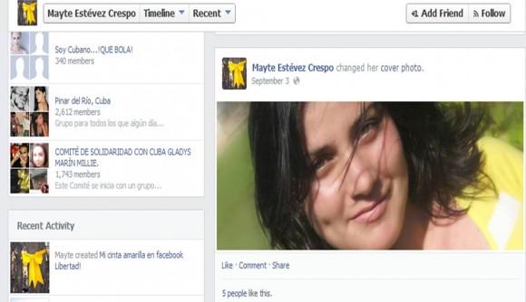 La cinta amarilla de Mayte Estévez.
