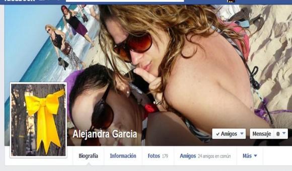 Cinta amarilla de Alejandra García.